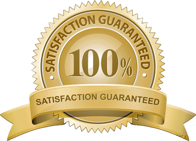 100% satisfaction guaranted